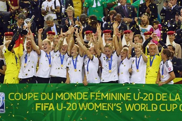 L'Allemagne conquiert un nouveau titre (photo FIFA)