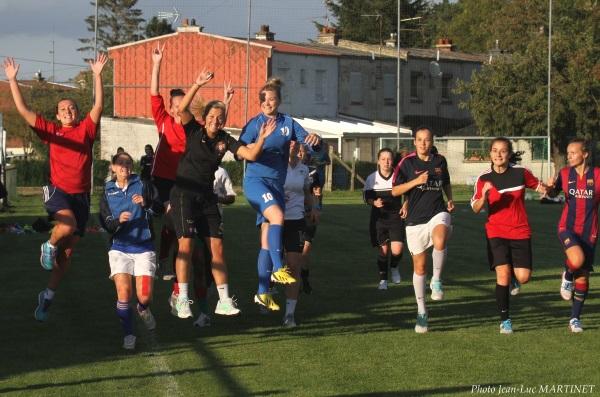 Cinq Héninoises ont rejoint le groupe arrageois cette saison (Photo JL Martinet)