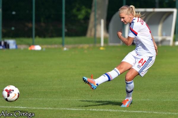 Ada Hegerberg, une jeune attaquante prometteuse