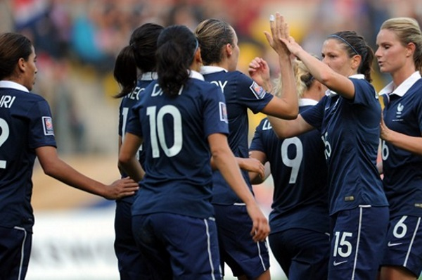 La France proche du podium (photo FIFA)