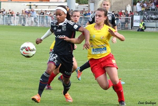 Lyon a attiré les foules à Albi (photo G Charton)