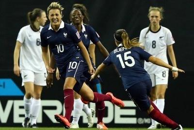 Claire Lavogez et la France ont fini troisièmes lors du mondial U20 en août dernier (Photo Fifa.com)
