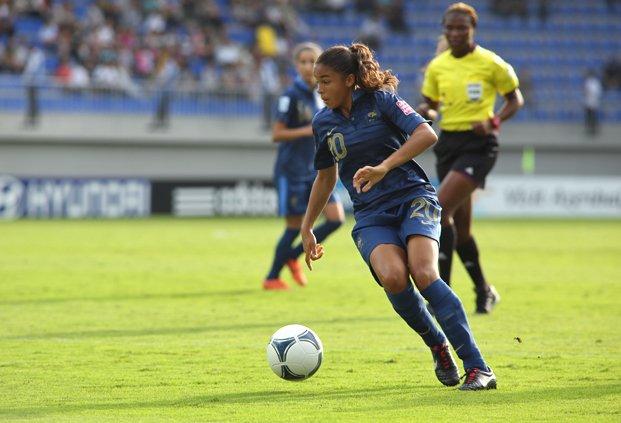 La Lyonnaise Delphine Cascarino (photo FFF)