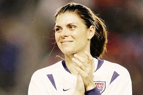 Mia Hamm sous le maillot US (photo DR)