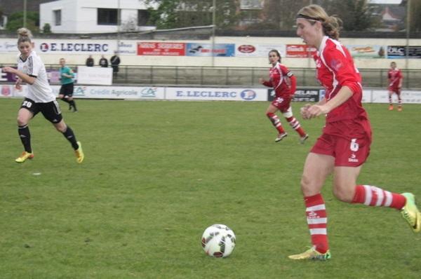 Lise Lachaud a été l'une des meilleures joueuses d'Issy.