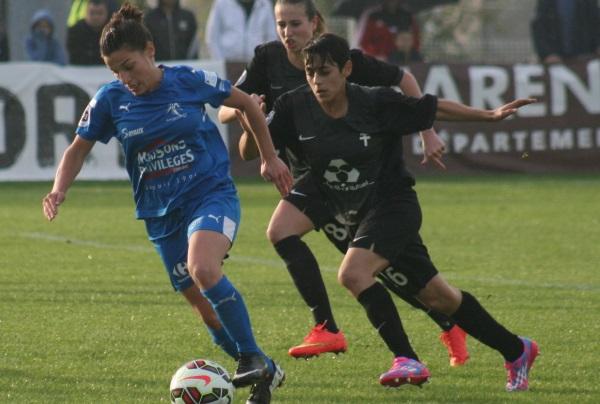 Laura Bourgouin reçoit Montpellier avec son club de Soyaux (photo C Ringaud)