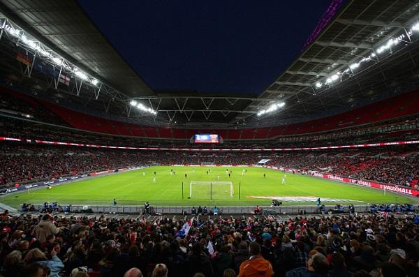 Un stade de Wembley bien garni pour cette rencontre amicale (photo FA)