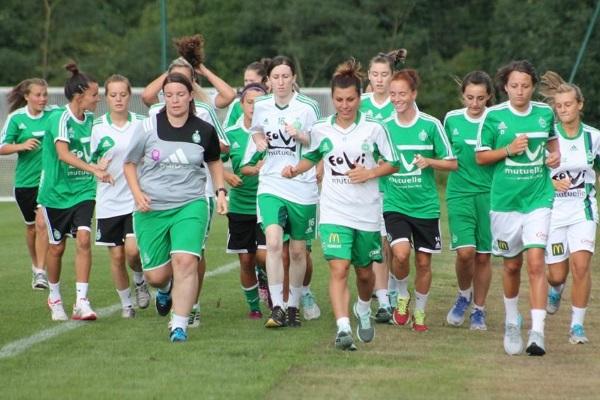 Enfin une victoire pour les Vertes, à quelques jours du derby ! (crédit : Facebook ASSE Féminine)