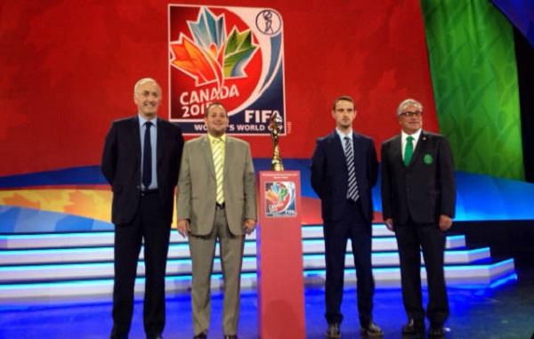 Les quatre sélectionneurs du groupe F(photo FMF)