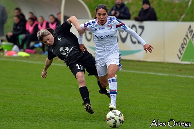 Amel Majri et l'OL déroulent encore face à Metz