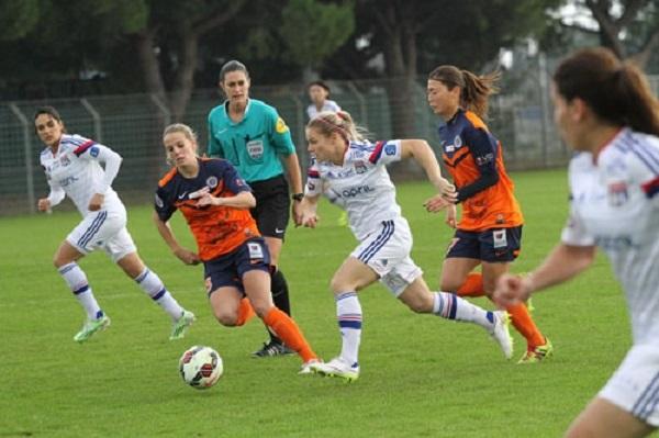 Les Lyonnaises ont fait parler leurs individualités (photo MHSC)