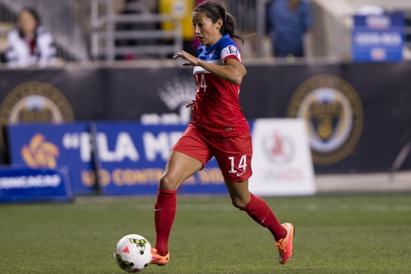Quadruplé pour Christen Press (photo US Soccer)