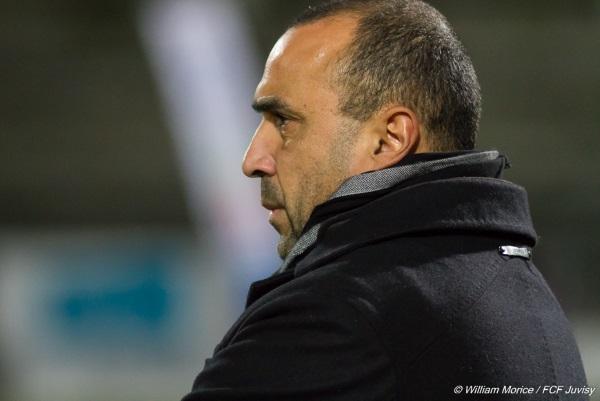 Pascal Gouzènes, l'entraîneur juvisien aurait espéré meilleure performance vendredi soir