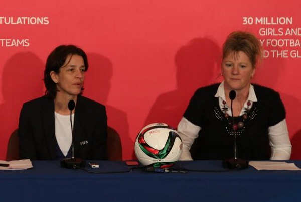 Tatjana Haenni et Brigitte Henriques (photo A Mesa/FFF)
