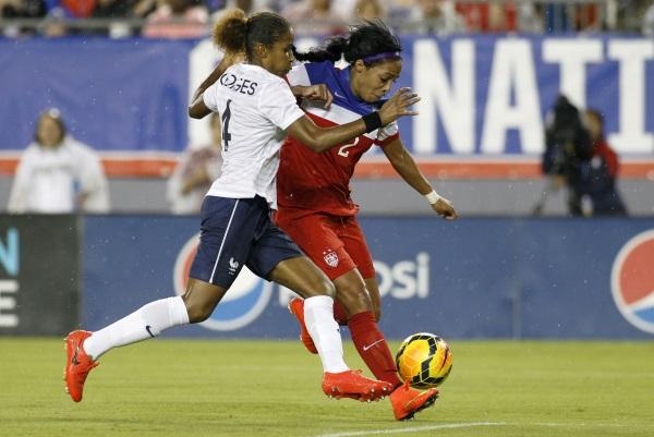 Laura Georges tentera de préserver la défense tricolore (photo US Soccer)