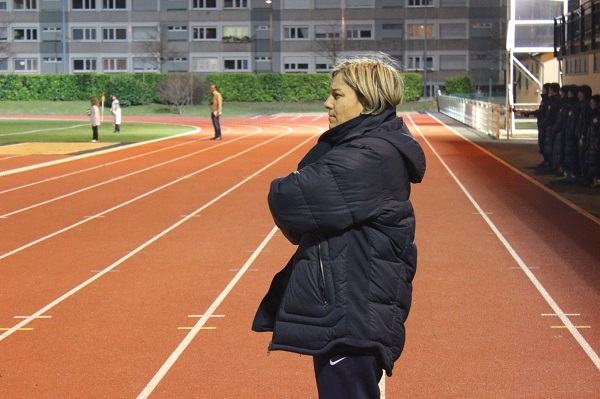 Cécile Locatelli à la tête de la sélection U16 (photo CDFC)