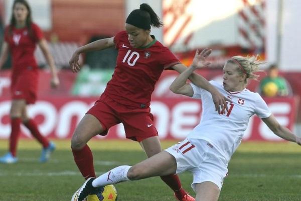 Les Portugaises, futures adversaires des Bleues, ont battu la Suisse de Lara Dickenmann (photo FPF)