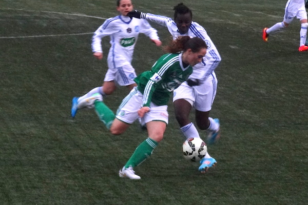 Les Vertes espèrent éviter l'OL en quarts de finale