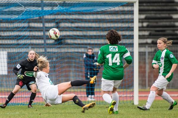 Les Juvisiennes ont scoré ce dimanche face à Orvault à quatorze reprises (photo Gianni Pablo)
