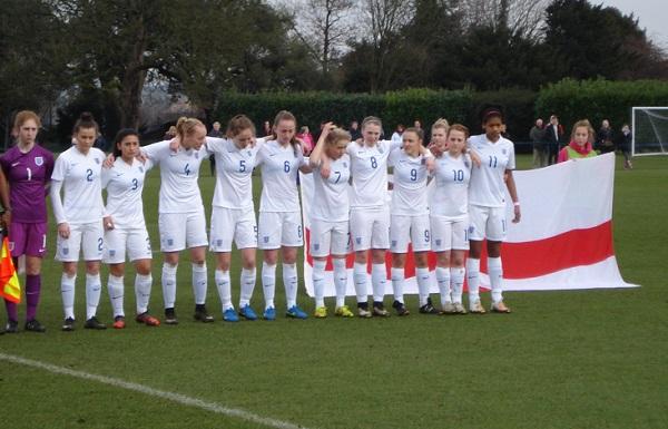 L'équipe anglaise (photo S Jamet)