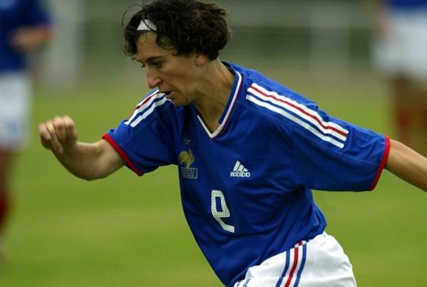Marinette Pichon a inscrit deux buts lors de l'Algarve Cup 2003 (Photo d'archive)