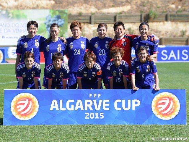 Algarve Cup - La FRANCE renverse la situation et se qualifie pour la finale