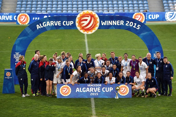 Bleues - Les ETATS-UNIS opportunistes décrochent leur dixième Algarve Cup