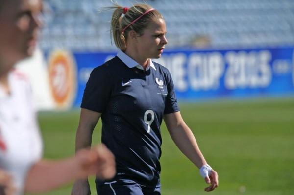 Eugénie Le Sommer, meilleure joueuse (photo FFF)