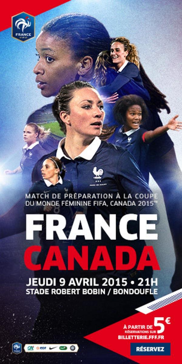 Bleues - FRANCE - CANADA le 9 avril à Bondoufle, réservez vos billets