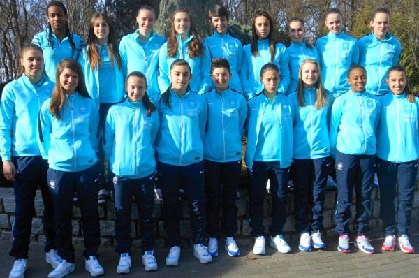 La sélection U17 en Pologne (photo CD/FFF)
