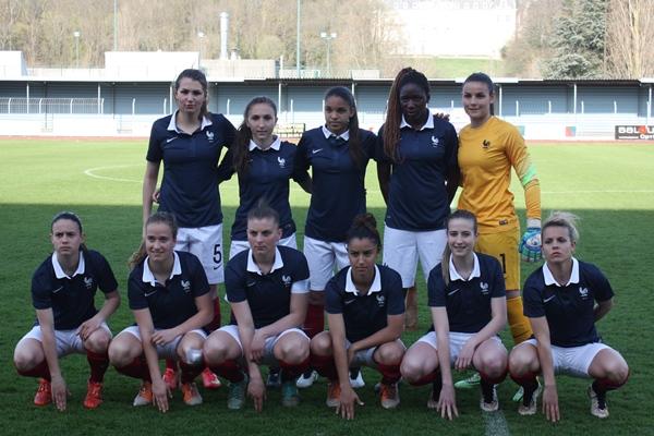 Les U19 françaises