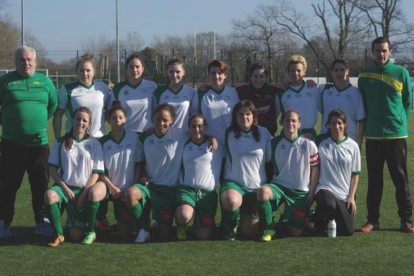 L'équipe féminine des Genêts d'Anglet