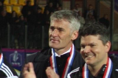Coupe de France - Les réactions des entraîneurs Gérard PRECHEUR et Jean-Louis SAEZ