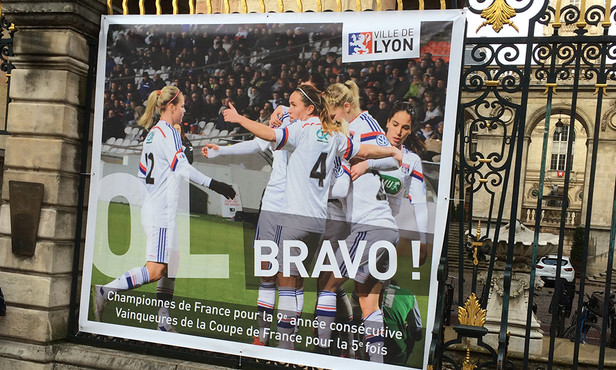 L'OL à l'affiche (photo olweb.fr)
