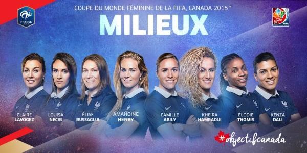 Bleues - Et les 23 Mondialistes sont....