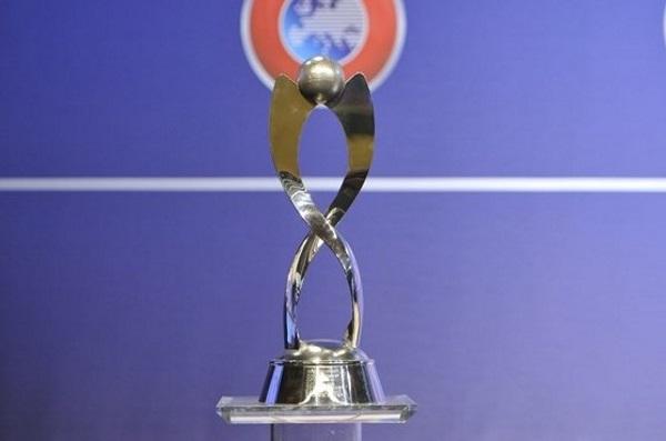 Le trophée mis en jeu (photo UEFA)