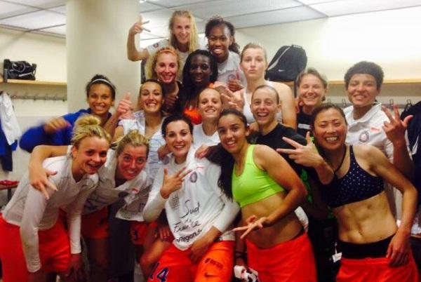 Troisième succès montpelliérain face à Juvisy cette saison (photo facebook)