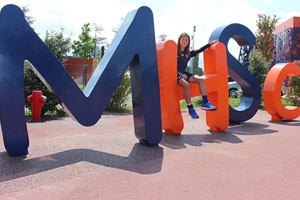 Utsugi se sent bien à Montpellier (photo club)