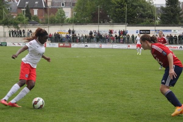 Duel de U19 entre Hawa Cissoko et Anaïs Pugnetti