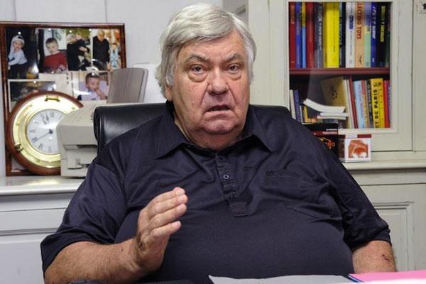 """""""Loulou"""" Nicollin, le dernier président """"à l'ancienne"""" du football français."""