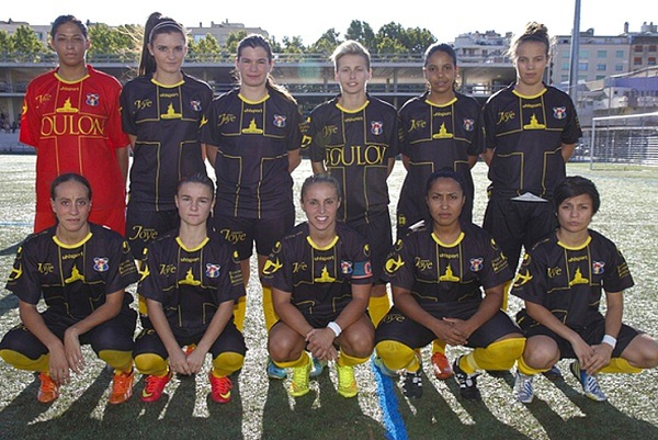 La puissance offensive des féminines du Sporting Toulon (Photo : Club)