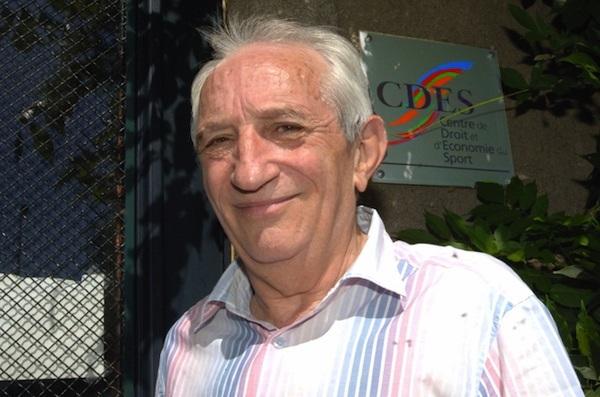 Jean-Pierre Karaquillo, co-fondateur du CDES (centre de droit et d'économie du sport) de Limoges