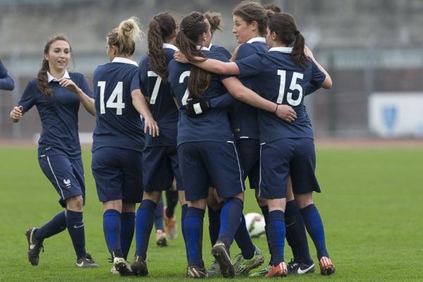 Les Bleuettes se sont qualifiées en avril dernier (photo Eric Baledent/LMP)