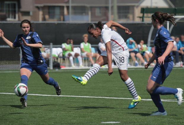 Marie-Laure Delie (photo Antonio Mesa/FFF)