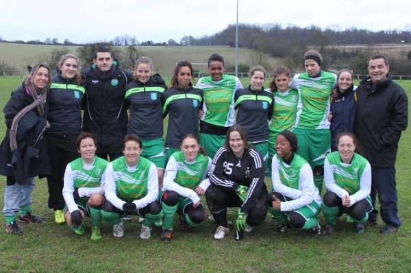 Cette saison, pas un match sans but pour les féminines de l'AS Vexin !