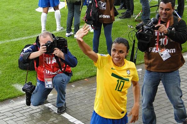 Déjà en 2011, Marta était l'une des joueuses à surveiller.