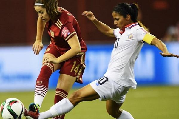 Seule Costaricienne à évoluer en Europe, Shirley Cruz est la capitaine de l'équipe nationale. Photo fifa.com