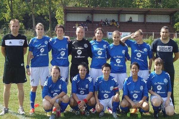 L'équipe féminine seniors de Notre-Dame des Champs. Photo www.ndcangers.asso.fr