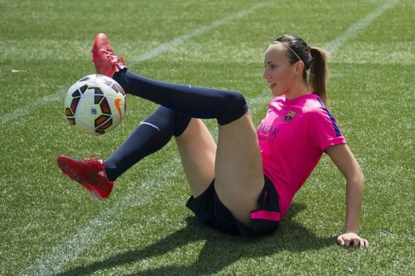 Virginia a gagné trois fois le championnat espagnol avec le FC Barcelone. (Photo FC Barcelona News)