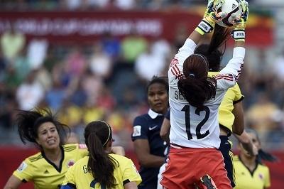 La gardienne colombienne omniprésente (photo FIFA)